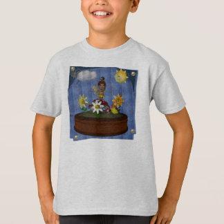 Sunflower Toon Baby Shirt