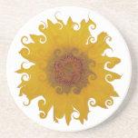 Sunflower - Tournesol (06) Dessous De Verres