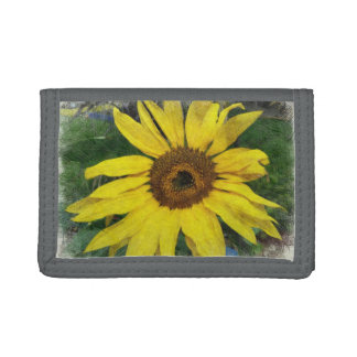 Sunflower Trifold Wallet