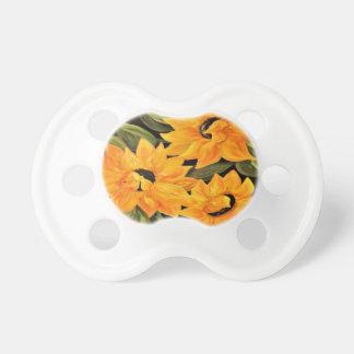 Sunflower Trio Pacifier