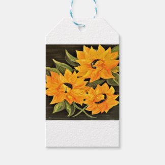 Sunflower Trio Pack Of Gift Tags