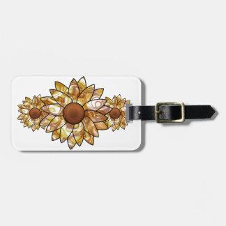 Sunflower Vibes Luggage Tag