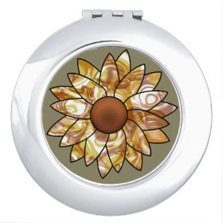 Sunflower Vibes Mirrors For Makeup