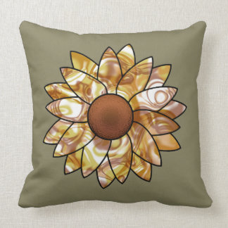 Sunflower Vibes Throw Pillow