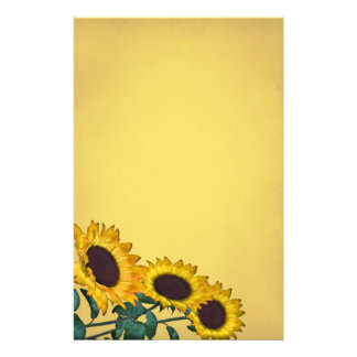 Sunflower Wedding Custom Stationery