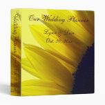 Sunflower Wedding Planner Binders