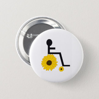 Sunflower Wheelchair Button