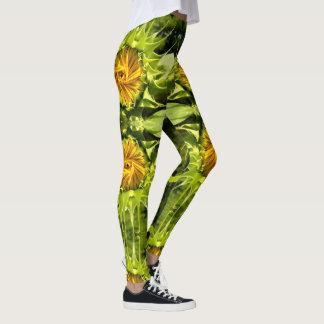 Sunflower whirl leggings