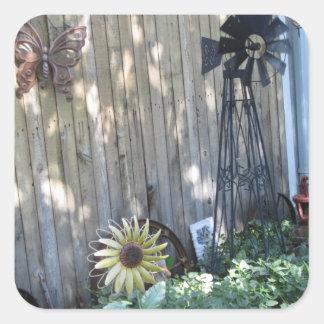 Sunflower Windmill Sticker