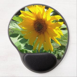 Sunflower with Bees Gel Mouse Pad