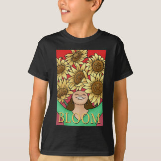 Sunflower Woman -- Bloom! T-Shirt
