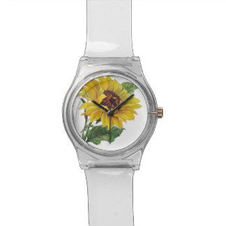 Sunflower Wrist Watch