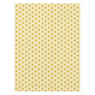 Sunflower Yellow Tan Table Clothe Tablecloth