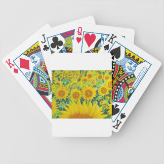 Sunflowers1 Bicycle Playing Cards