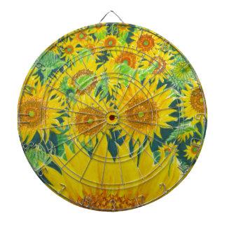 Sunflowers1 Dartboard