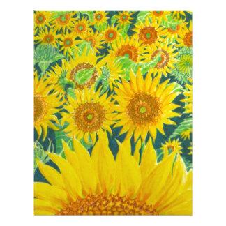 Sunflowers1 Letterhead