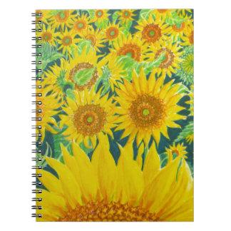 Sunflowers1 Notebook
