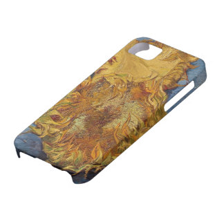 Sunflowers, 1887 (oil on canvas) iPhone 5 cover