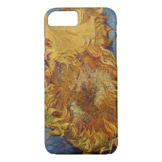 Sunflowers, 1887 (oil on canvas) iPhone 7 case