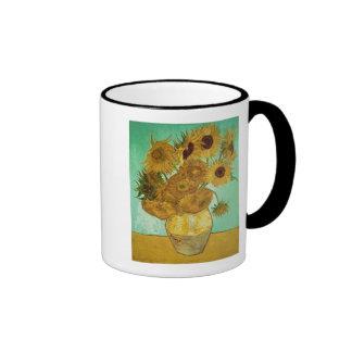 Sunflowers, 1888 ringer mug