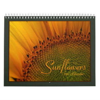 Sunflowers 2011 Calendar