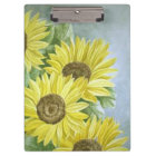 Sunflowers 3 clipboard