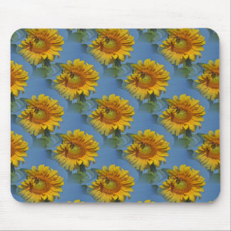 Sunflowers and friends... mouse pad