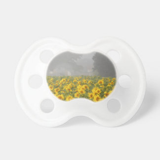 Sunflowers and Mist Baby Pacifiers