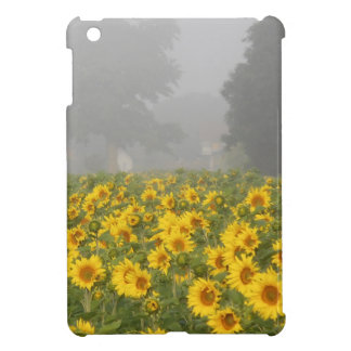 Sunflowers and Mist Cover For The iPad Mini