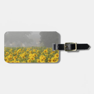 Sunflowers and Mist Luggage Tag