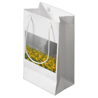 Sunflowers and Mist Small Gift Bag