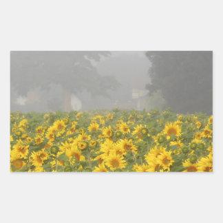 Sunflowers and Mist Sticker