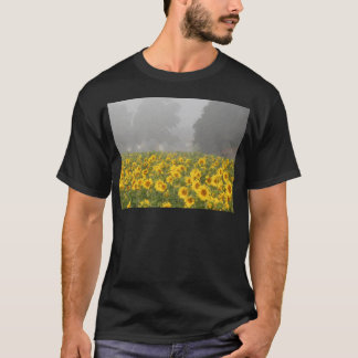 Sunflowers and Mist T-Shirt