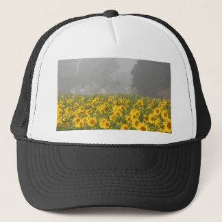 Sunflowers and Mist Trucker Hat