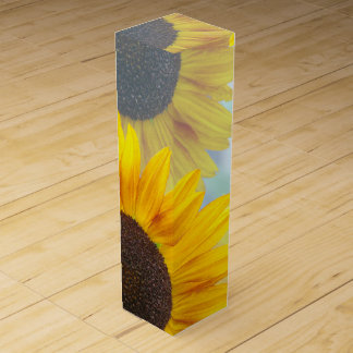 Sunflowers and Wine Wine Boxes