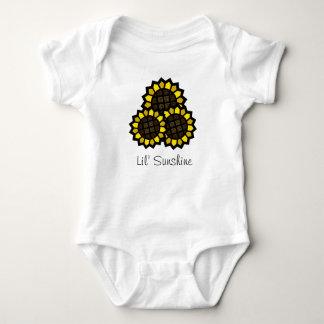 Sunflowers Baby Bodysuit