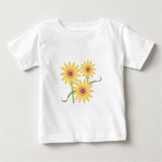 Sunflowers Baby T-Shirt