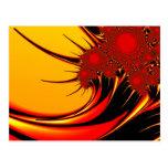 Sunflowers Brago-Mitchell Fine Fractal Art Postcard