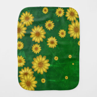 Sunflowers Burp Cloth