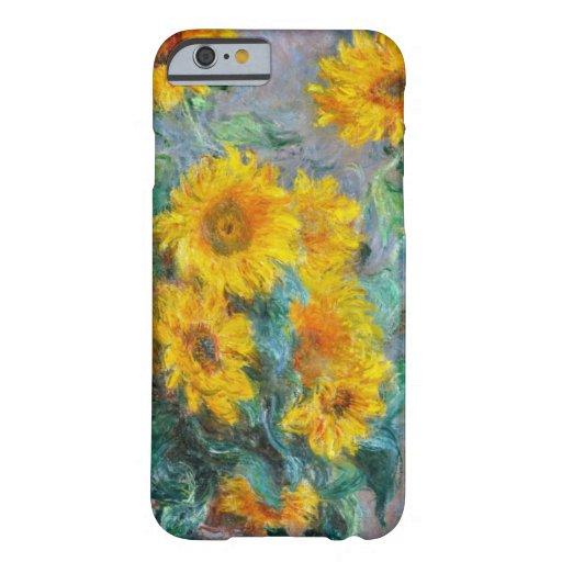 Sunflowers by Claude Monet iPhone 6 Case