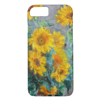 Sunflowers by Claude Monet iPhone 7 Case