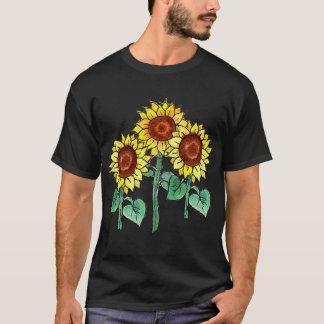 SUNFLOWERS by SHARON SHARPE T-Shirt