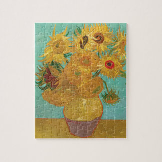 Sunflowers by Van Gogh Jigsaw Puzzle