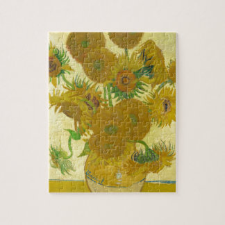 Sunflowers by Vincent van Gogh Jigsaw Puzzle