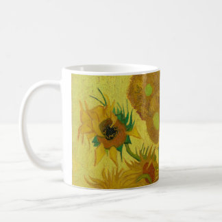 Sunflowers by Vincent van Gogh Mugs