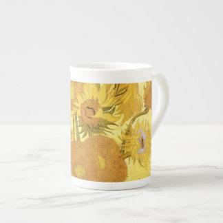 Sunflowers by Vincent van Gogh Porcelain Mugs