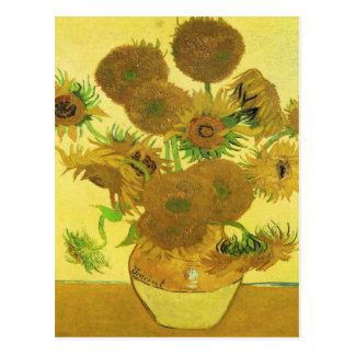 Sunflowers By Vincent Van Gogh Post Cards