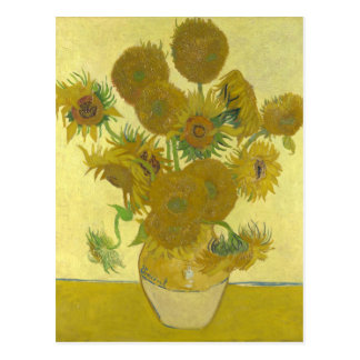 Sunflowers By Vincent Van Gogh Postcard