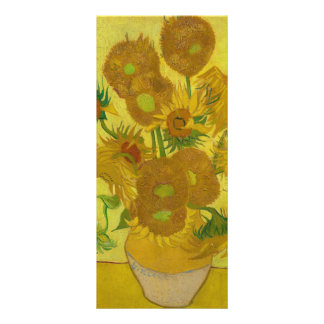 Sunflowers by Vincent van Gogh Rack Cards