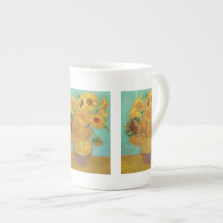 Sunflowers by Vincent Van Gogh Tea Cup